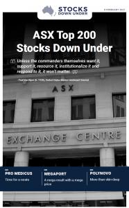 ASX Top 200 Stocks Down Under: Pro Medicus, Megaport, Polynovo