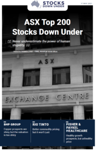ASX Top 200 Stocks Down Under: BHP Group, Rio Tinto, Fisher & Paykel Healthcare