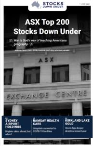 ASX Top 200 Stocks Down Under: Sydney Airport Holdings, Ramsay Health Care, Kirkland Lake Gold