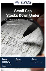 Small Cap Stocks Down Under: United Overseas Australia, Hubify, Ovato
