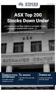 ASX Top 200 Stocks Down Under: Domino's Pizza Enterprises, Oil Search, Downer EDI